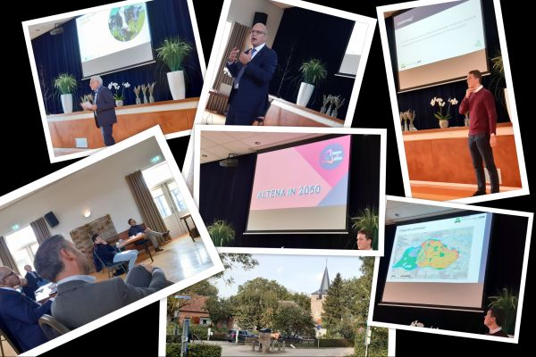 Studenten Wageningen University presenteren toekomstscenario Altena