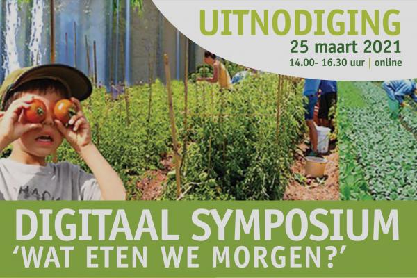 Digitaal symposium 'Wat eten we morgen?'