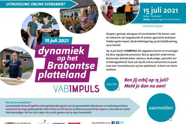 VABIMPULS event: Dynamiek op het Brabantse platteland